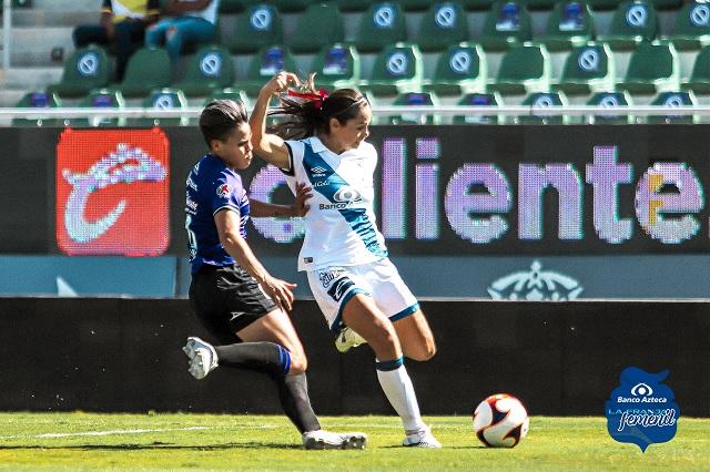 Puebla Femenil deja ir los tres puntos en su visita a Mazatlán