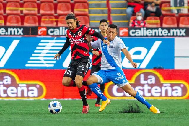 Puebla y Xolos se reparten puntos en el Estadio Caliente