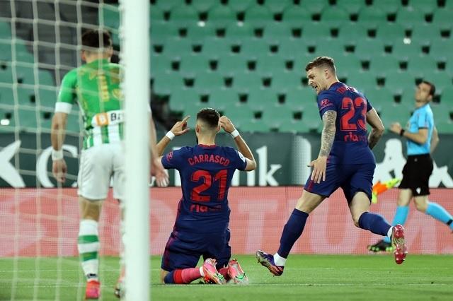 Atlético de Madrid reparte puntos con Betis y complica su liderato en LaLiga