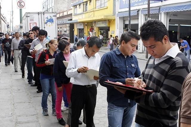 Cae 26.7% el empleo formal en Puebla en trimestre 3: Coparmex