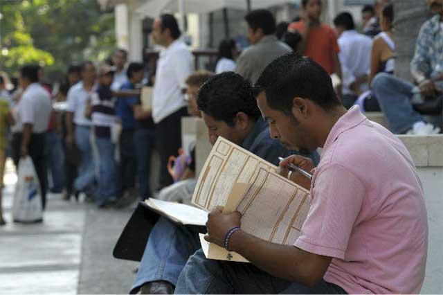 Puebla cumplió sólo la mitad de su meta en empleo formal