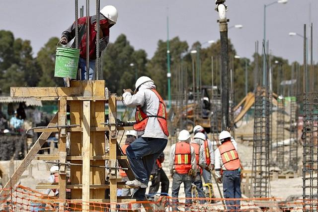 Repunta empleo en la Industria de la construcción en Puebla: INEGI