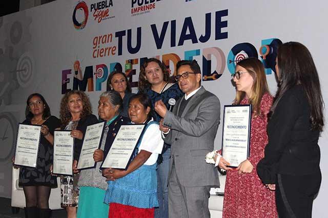 Ayuntamiento de Puebla reconoce a las mujeres emprendedoras