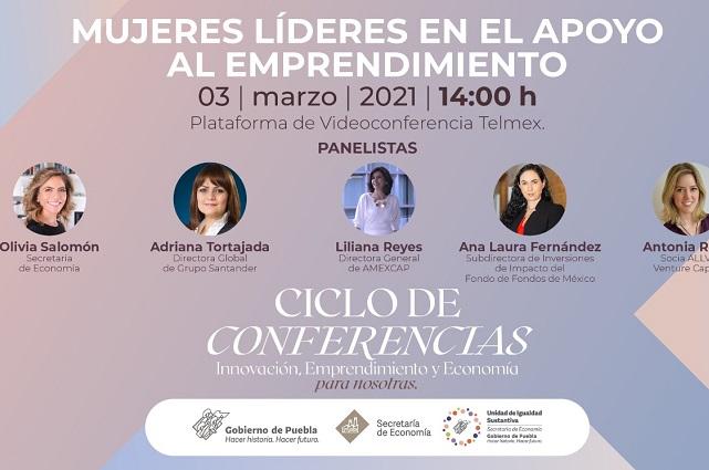 Organizan la conferencia Mujeres líderes en el apoyo al emprendimiento