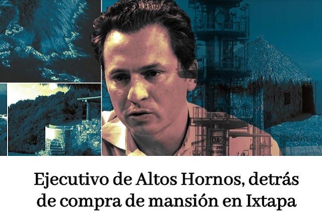 Ejecutivo de Altos Hornos compró para Lozoya mansión en Ixtapa: MCCI