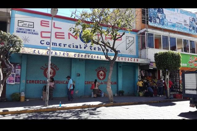 En Tehuacán 66 empresas se van de cuarentena por Covid-19