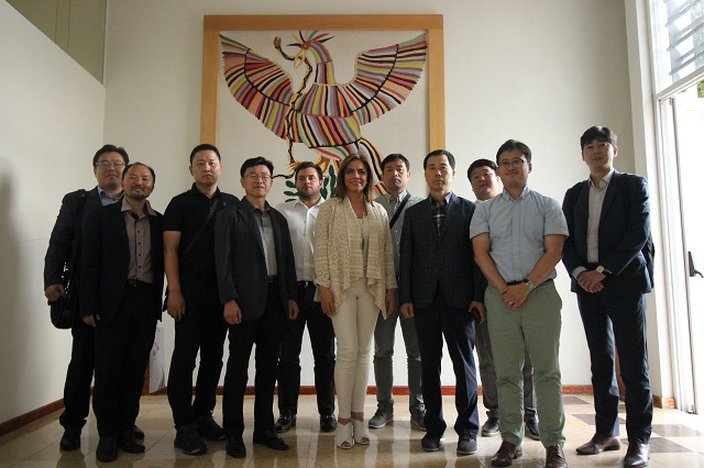 Empresas coreanas valoran potencial de Puebla para anclar inversiones