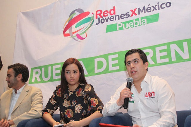 Demandan jóvenes priístas 30% de las candidaturas para 2018