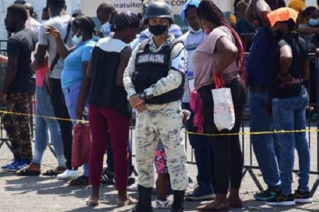 En tres tráileres llevaban a 700 migrantes en Tamaulipas