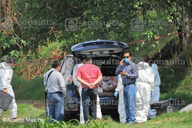 Un expolicía de Puebla, entre los encajuelados hallados en Tlaxcala