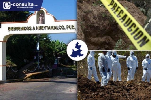 Encuentran en cinco años 50 fosas clandestinas en Puebla