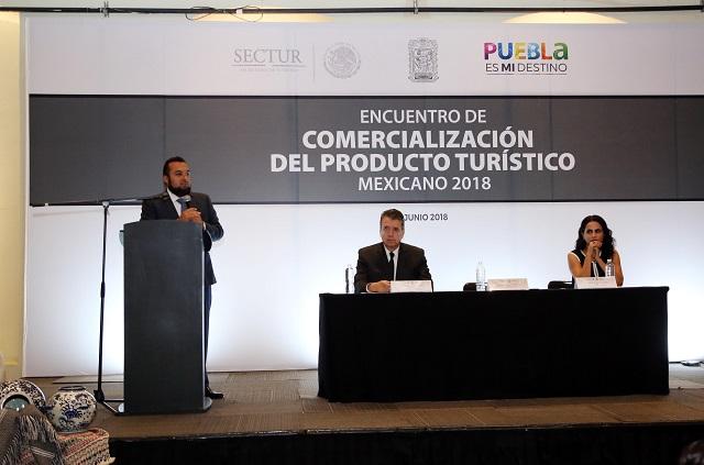 Sectur realiza en Puebla encuentro de comercialización turística