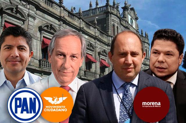 Sólo en alianza PAN ganaría la capital de Puebla a Morena
