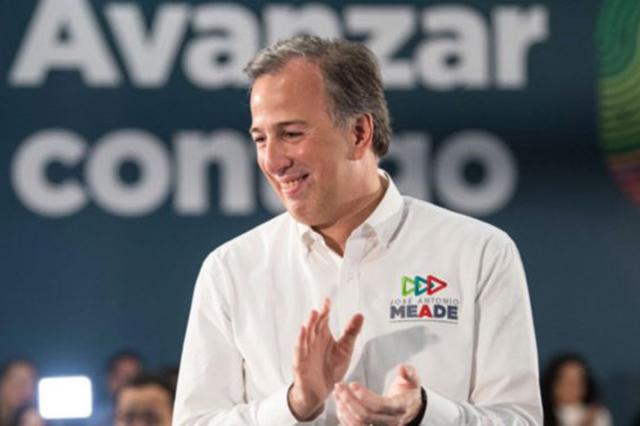 Asegura José Antonio Meade que no cree en las encuestas