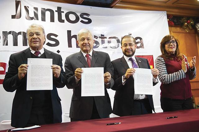 Según encuesta, alianza de Morena aventaja por 10 puntos