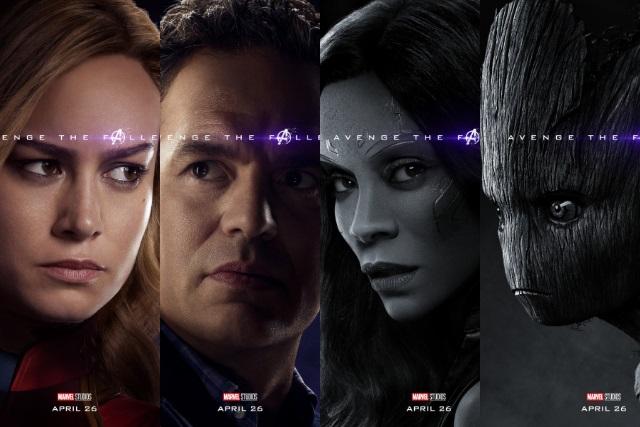 A un mes del estreno, revelan personajes de Avengers: Endgame