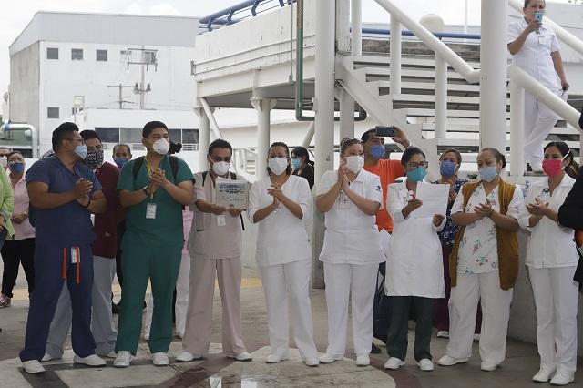 Buscan castigo doble a quien ataque a personal de salud