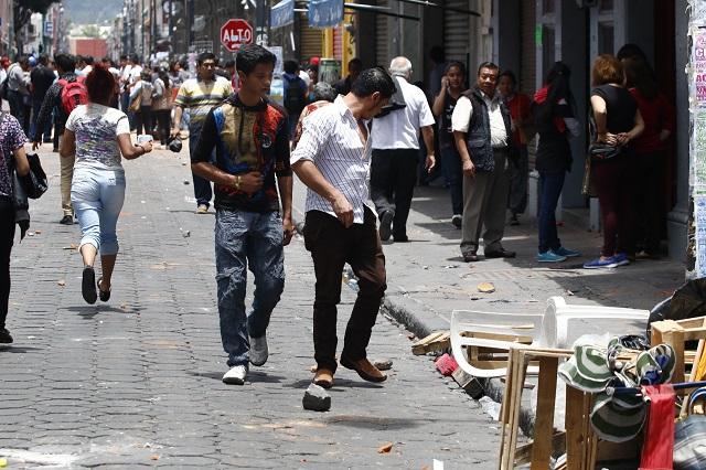 Pide Congreso de la Unión que CNDH investigue operativo contra ambulantes