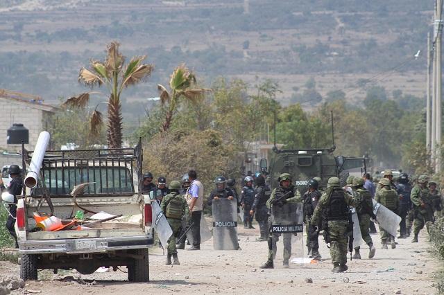 Investigan a 30 militares por operativo en Palmarito: PGR