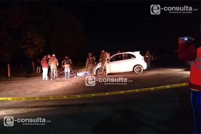 Balacera en Tlalancaleca entre federales y ladrones deja un muerto
