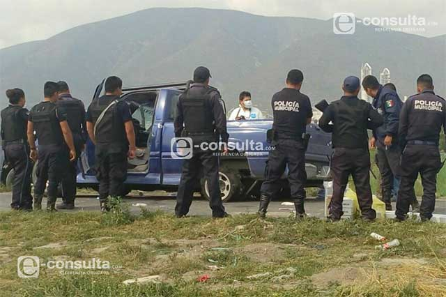 Atacan a federales en Quecholac y un agresor muere en balacera