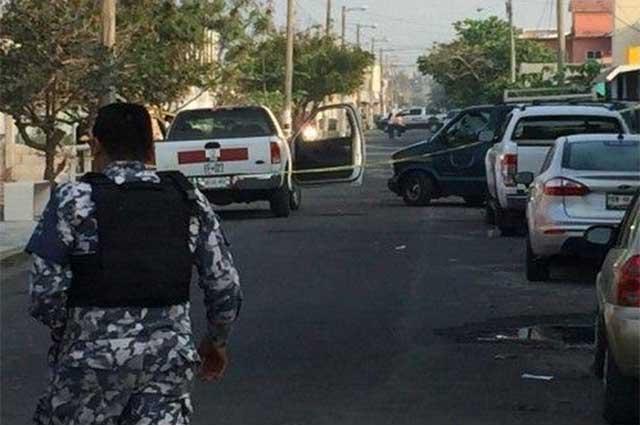 Policía Naval resguarda fraccionamiento Villa Rica