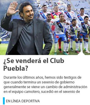 ¿Se venderá el Club Puebla?