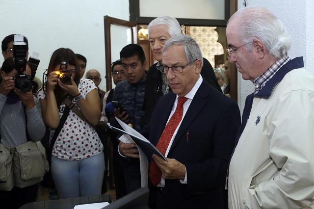 Sí hace falta una ley para regular a policías en Puebla, dice Cárdenas
