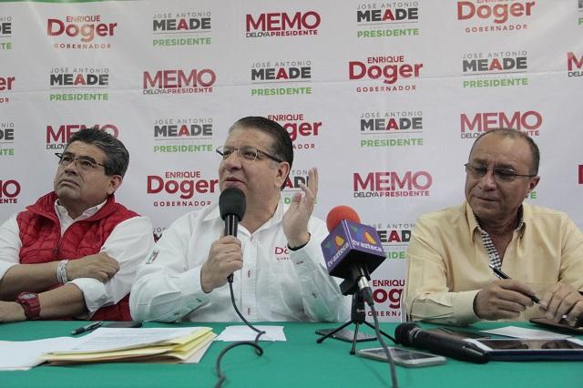 PGR me investigó y exoneró de propiedades millonarias: Doger