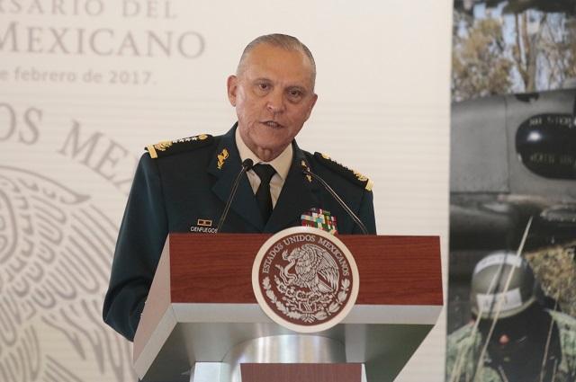 EU retira todos los cargos contra Salvador Cienfuegos