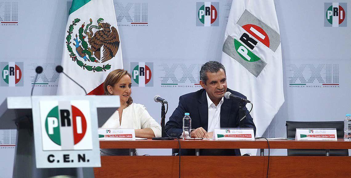 El PRI sale fortalecido de su Asamblea Nacional: Ochoa Reza