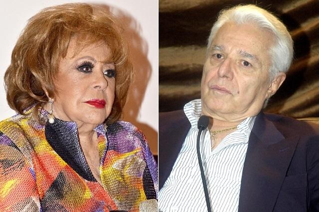 Enrique Guzmán está pendiente de la salud de Silvia Pinal