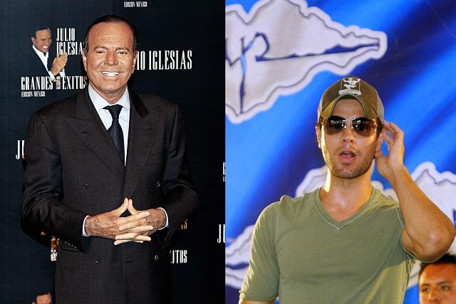 Julio Iglesias habría dejado fuera de su testamento a Enrique Iglesias