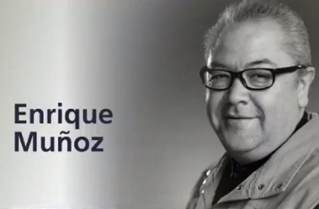 Muere el periodista Quique Muñoz, El Reporteronte