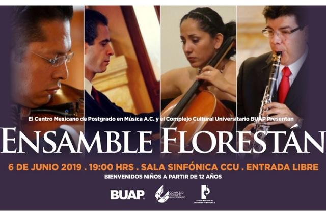 Hoy se presenta el Ensamble Florestán, México, en el CCU