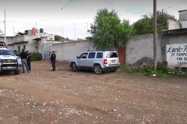 Mujer mata y entierra a su ex pareja en el patio de su casa en Tehuacán