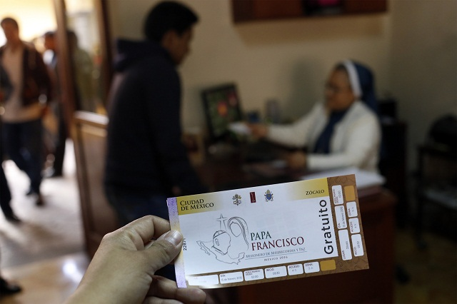 Entrega arquidiócesis dos mil boletos para ver al Papa