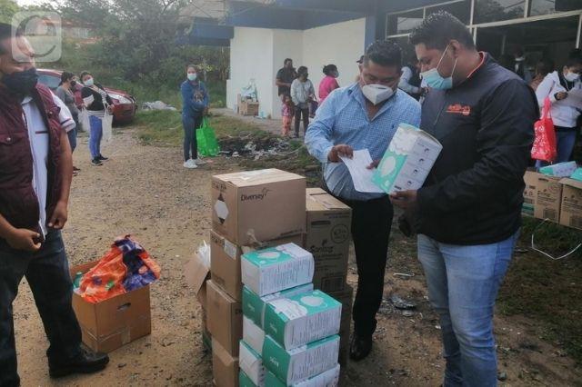 CORDE 08 dota de kits de higiene a escuelas de la Mixteca