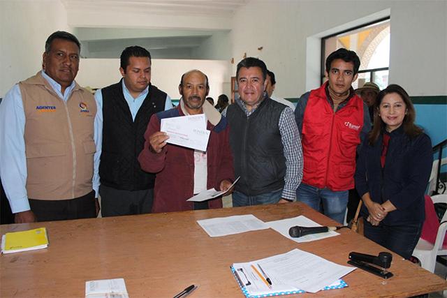 Concluye entrega de tarjetas para la reconstrucción, informa SEDATU