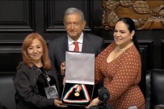 Senado entrega Medalla Belisario Domínguez a Rosario Ibarra de Piedra