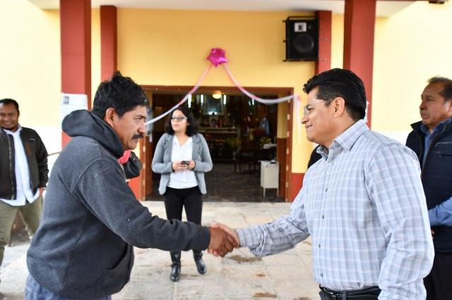 Entregó edil de Coronango resultados de programa