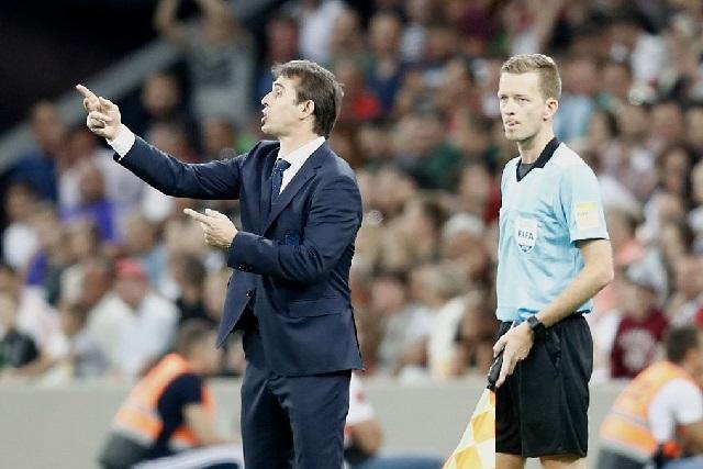 España cesa a Lopetegui antes del mundial y pone a Fernando Hierro