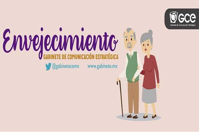 Sociedad mexicana envejece, a muchos preocupa