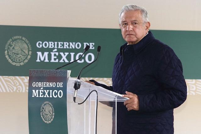 Dan cuenta de apoyos sociales durante visita de AMLO a Puebla