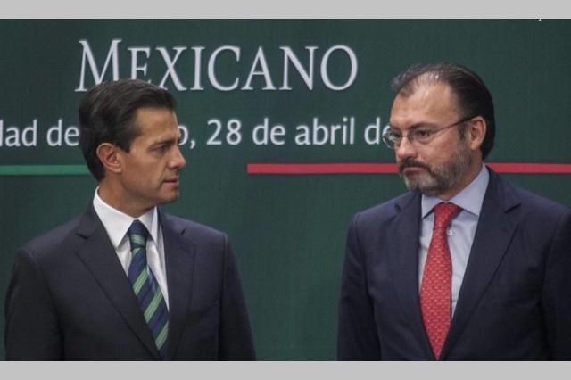 FGR investiga propiedades de Peña Nieto y Luis Videgaray