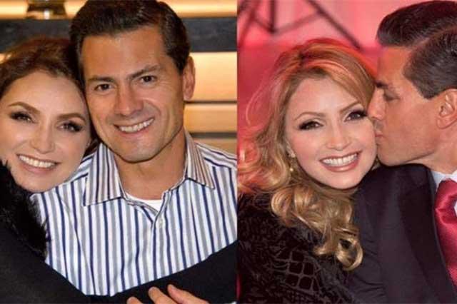 Felicita Peña Nieto a Angélica Rivera por su cumpleaños