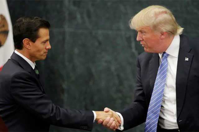 EPN endurece su discurso contra Trump, pero sólo en un artículo que publicó