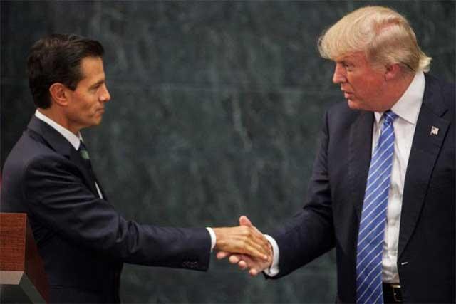 Felicita EPN a Donald Trump por su toma de posesión