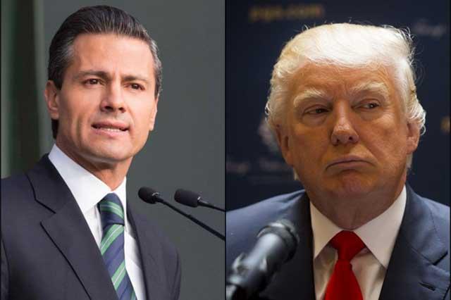Cancela Peña visita a Trump y le informa por Twitter