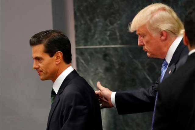 Trump quería que EPN fuera tan popular como para competir por otro sexenio